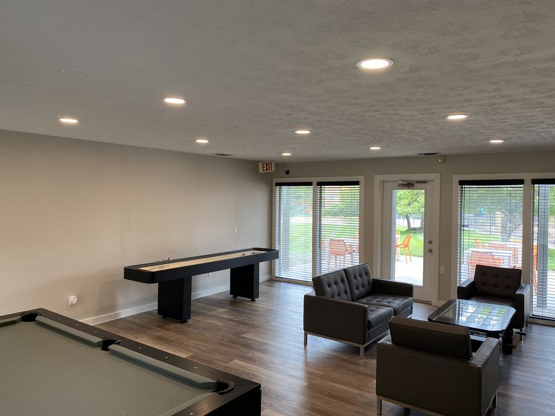 After: Clubhouse Renovation